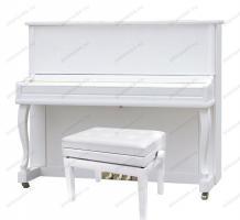 Купите Sam Martin UP123 White акустическое пианино в PIANO44.RU